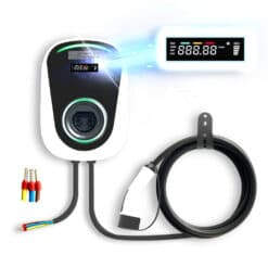 Wall mount ev charger front view
